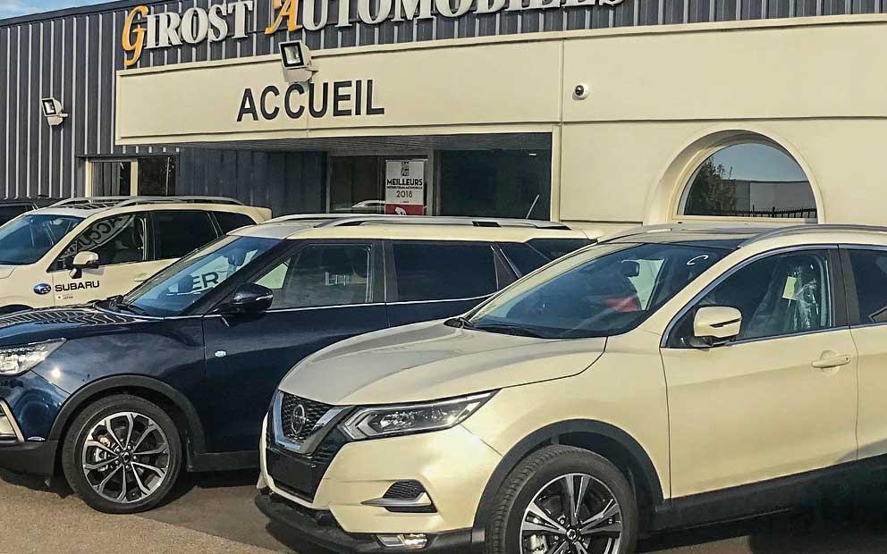 Girost Automobiles, Vente de véhicules neufs